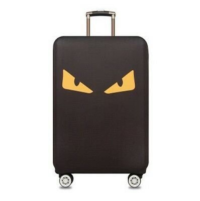 2018 Cheap Hot Elastic Dust Case Eye Pattern Travel Suitcase Protective Cover