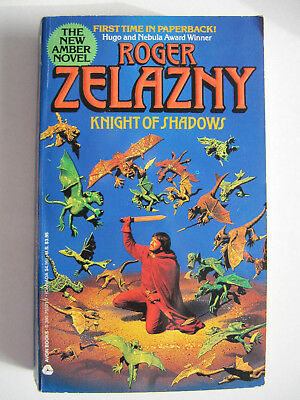 Knight of Shadows by Roger Zelazny (Paperback) 1990 US Edition