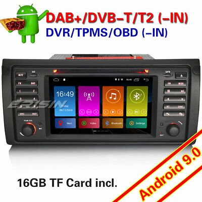 "DAB+Autoradio for BMW 5 Series E39 X5 E53 M5 NAVI GPS 4G TNT WIFI 9""Android 8.0"