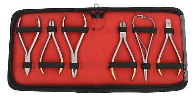 Professional Orthodontics Tools, Orthodontic pliers Set with TC Inserts