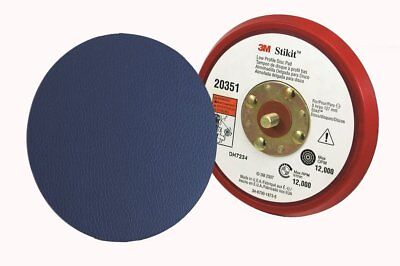 "1-Each 3M 20352 5"" X 3/8"" X 5/16-24 External Hookit Low Profile Disc Pad"