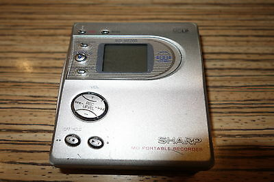 MD Sharp MT200 Silber   . Recorder / Player Minidisc (214)