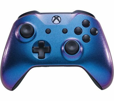 MICROSOFT Xbox One Wireless Controller - Two Tone Blue - Currys