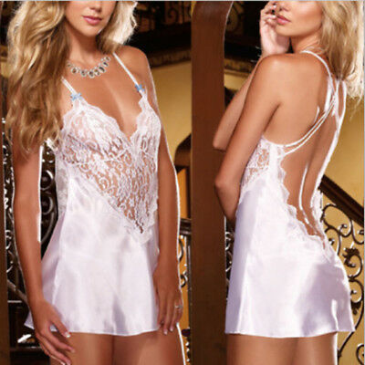 NEW Lady Charm Sexy/Sissy Lace Lingerie Nightwear Hollow Out G-String Underwear