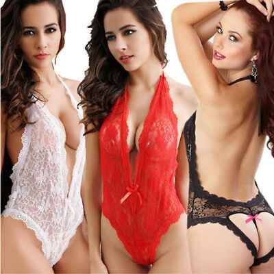 Womens Charm Sexy/Sissy Nightwear G String Lace Lingerie Perspective Underwear