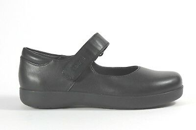 Camper Kids Spiral Comet girl's mary jane style leather school shoe