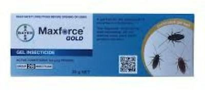 Maxforce Gold cockroach gel 0.3g/kg Fipronil  - Free express shipping
