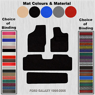 Tailored Velour Floor Mats For Ford Galaxy To 1995-2006
