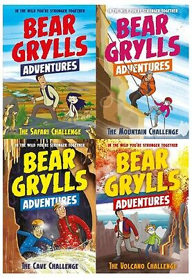 A Bear Grylls Adventure Collection 5 Books Collection Set (Age 9-12)