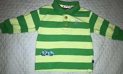 Blues Clues Steve Green Stripe Shirt Size 2t Halloween Party Play