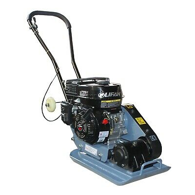 SwitZer Petrol Compactor Compaction Plate 5.5HP HS-60 with Wheels New Design