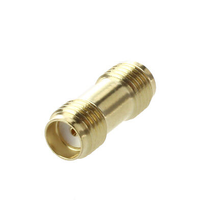 5X(Straight SMA Female to Female Jack RF Adapter Connector K6K9)