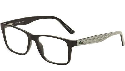 e3600396e720 Lacoste Men s Eyeglasses L2741 2741 001 53mm Black White   Green Optical  Frames