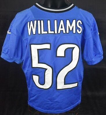 3b56dfd83 2014 ANTWIONE WILLIAMS  52 Detroit Lions Practice Worn Football Jersey -   19.97