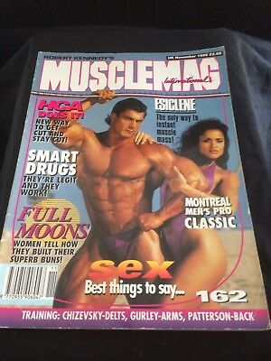 MUSCLEMAG INTERNATIONAL MAGAZINE - November 1995
