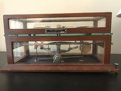 Antique Henry Troemner Scale model 540 with weights