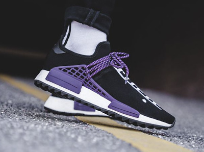 d5fd88b3e Adidas Pharrell Williams Human Race Holi NMD MC Equality Black Purple AC7033