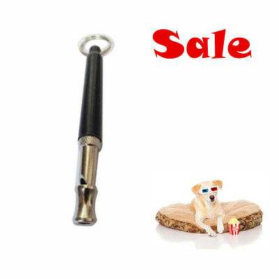Ultrasonic Sound Pitch Silent Dog Puppy Command Training Whistle Animal Treat