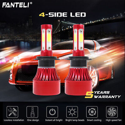 H7 1500W 225000LM CREE LED Headlight Kit High or Low Beam Bulb Xenon 6000K Power