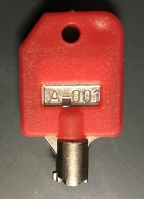 A-001 Tubular Key Suits Vendmax Candy Vending Machine Locks Any Lock Coded A-001