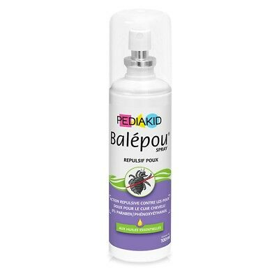 PEDIAKID Balépou Anti-lice Spray 100ml Remove and fight with efficiency the lice