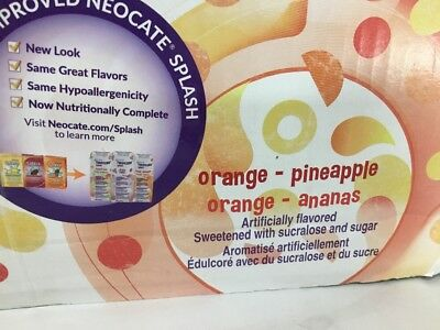 27 Neocate Splash Orange Pineapple Case Juice Boxes drink *Read Details* AHFC