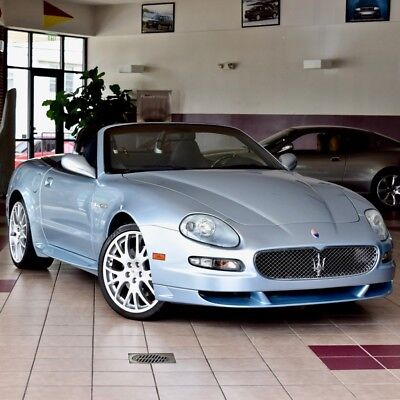 2006 Maserati Gran Sport Spyder RARE GRANSPORT SPYDER Striking Colors ALL CARBON OPTIONS Low Mileage 60 PICS