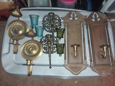 vintage home interior wall sconces 5 00 picclick