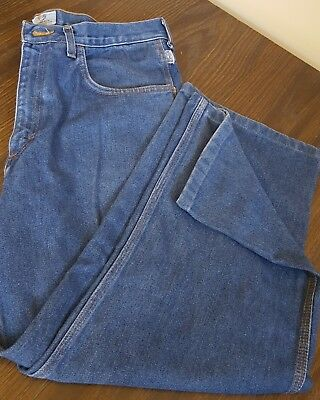 Mens Tyndale Flame resistant Denim pants Made in USA 34 EBT 15.3