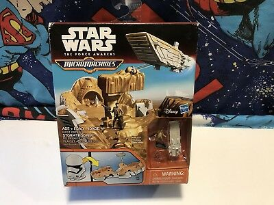 Micro Machines Star Wars Force Awakens First Order Stormtrooper Hasbro 2015 Toys
