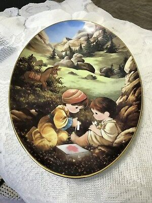 Murals From The Precious Moments Chapel Collection ~ THE GOOD SAMARITAN Plate