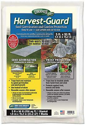 Gardeneer By Dalen Harvest-Guard Seed Germination & Garden Protection Cover 5' x