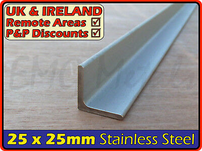 Stainless Steel Angle ║ 25 x 25 mm ║ marine,316,L section iron,profile,bracket