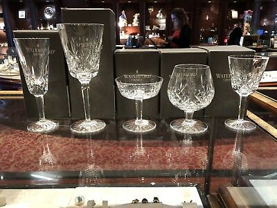 waterford crystal lot of LISMORE