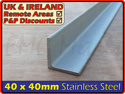 Stainless Steel Angle ║ 40 x 40 mm ║ marine,316,L section iron,profile,bracket