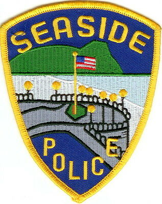 Seaside Police Patch Oregon OR