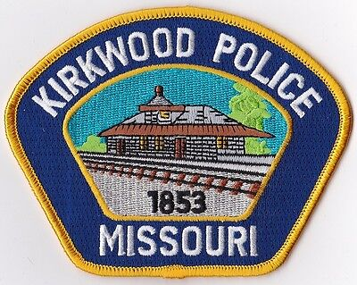 Kirkwood Police Missouri Patch NEW!