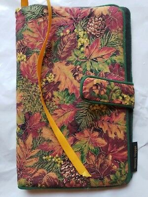 Handmade Quilted Paperback Folding Book Cover or Tablet/Kindle Case   9×6×12