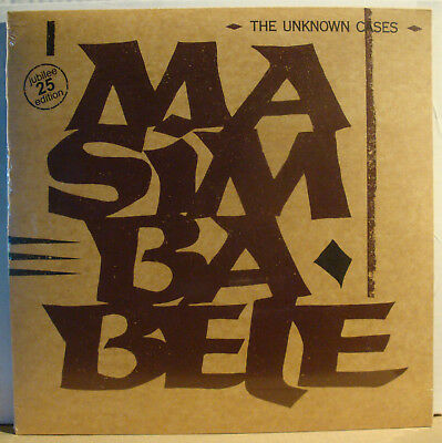 "12"" THE UNKNOWN CASES - Masimba Bele  1983/2008"