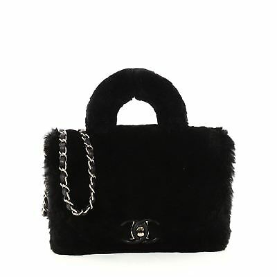 4de6b0332716 CHANEL PARIS COSMOPOLITE Top Handle Bag Fur Small - $2,655.00 | PicClick