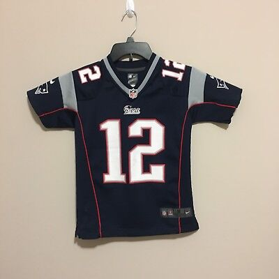 pretty nice aaa7b d2a2a Tom Brady Patriots Youth Jersey Size Youth S Nike Official NFL