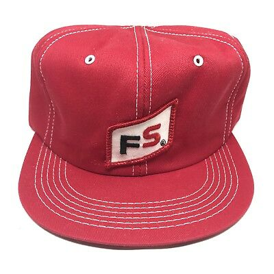 d30d07a1afd VINTAGE 70S FS Seed Farmers Pioneer Hat Cap Winter Earflaps WITHOUT ...