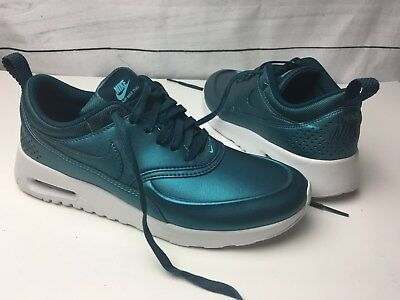 WOMENS NIKE AIR Max Thea Se Metallic Dark Sea Trainers