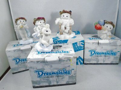 IOB 4 Dreamsicles Collectors Charter Member Club Figurines by Kristina CD002 CD1