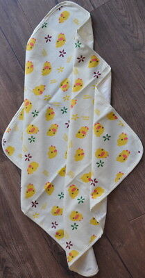 Individually Packaged Waterproof Baby Change Mat 60cm x 70cm, Pale Yellow Border