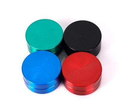 Tobacco Herb Spice Grinder 2 layers Herbal Alloy Smoke Metal Chromium Crusher