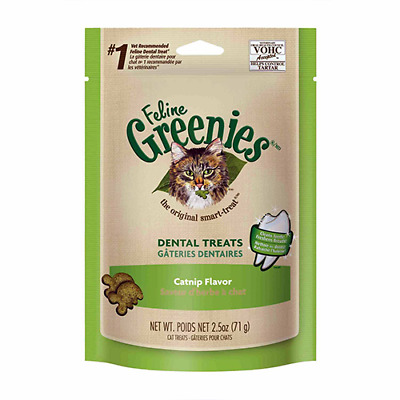 Greenies Dental Treats Catnip for Cats