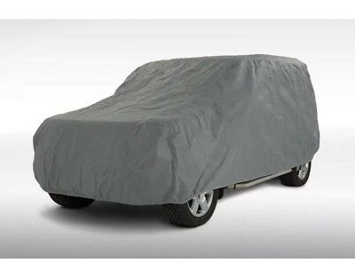 Heavy Duty Shield Autocare Waterproof Cotton Lined Car Cover Size Small