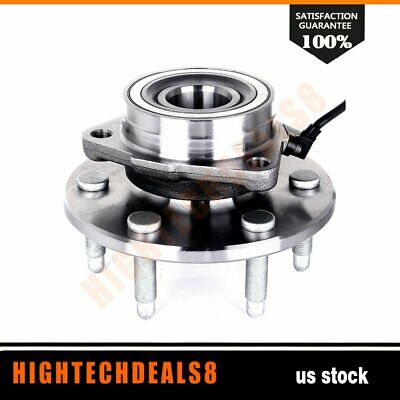 Front Wheel Hub Bearing Assembly New For GMC Chevy Cadillac 4WD AWD W/ABS