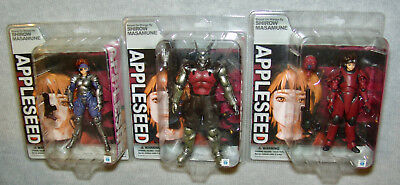 NEW Appleseed V.3 Repaint Complete 3 Figure Set  by Yamato Toys Masamune Shirow